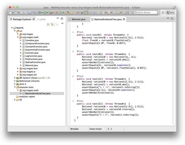 EvoSuite-Example